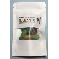 MJ Gummy SOUR Worms (Original & CBD)